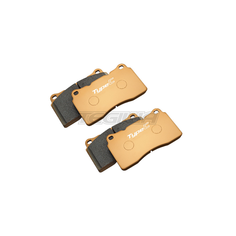 MUGEN COMPETITION FRONT BRAKE PADS HONDA CIVIC TYPE R FK2 ...