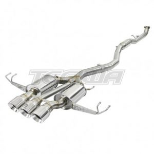 """AFE TAKEDA 3"""" STAINLESS STEEL CATBACK EXHAUST HONDA CIVIC FK8 TYPE R 17+"""