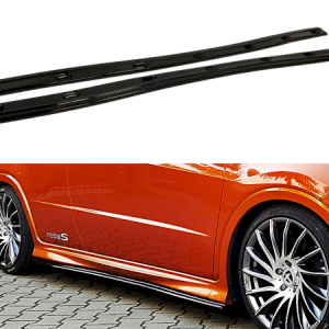 SIDE SKIRTS DIFFUSERS HONDA CIVIC VIII TYPE S/R